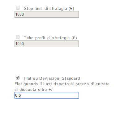 Imposto StopLoss e Take Profit